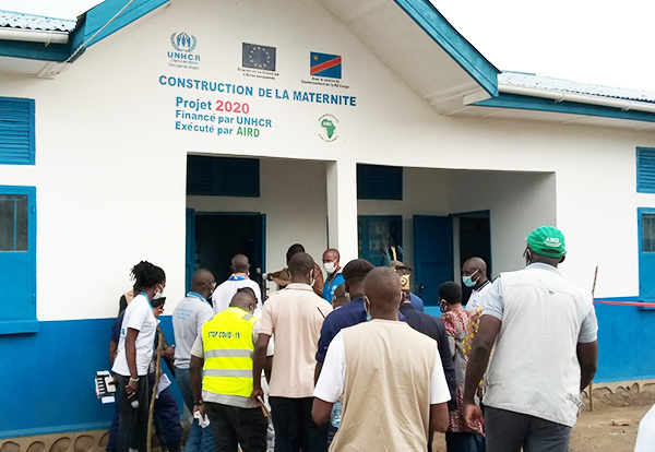 Infrastructure brings important services closer to the displaced in the Democratic Republic of Congo