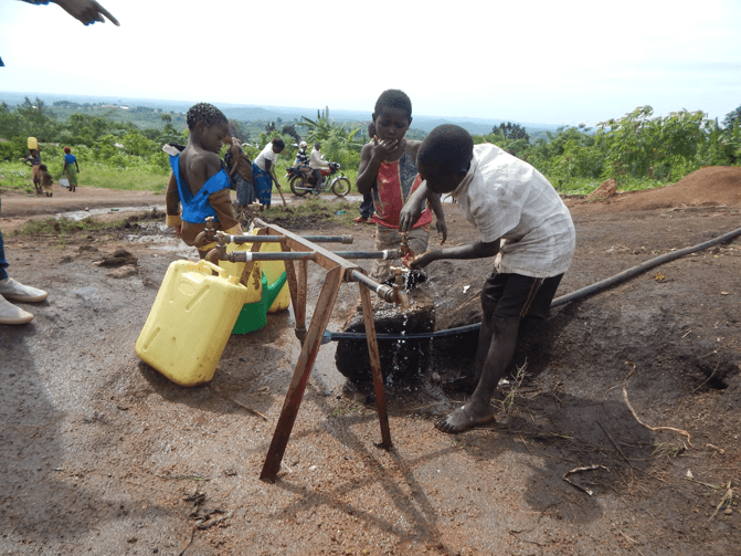 Elevating health in communities- Sanitation and Hygiene interventions in Uganda