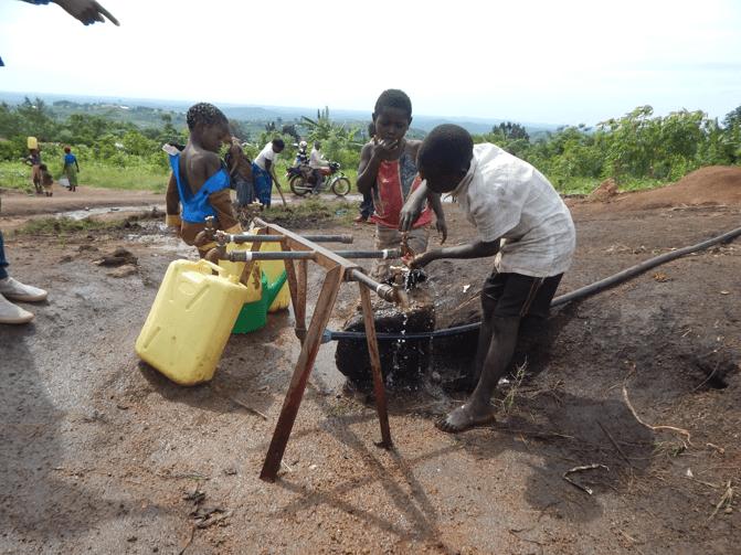 Elevating health in communities- Sanitation and Hygiene interventions in Uganda