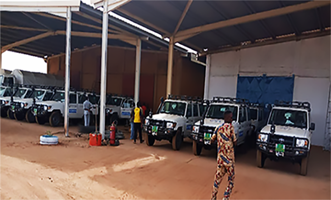 Meeting challenging logistical needs in Niger – a look back on 2020