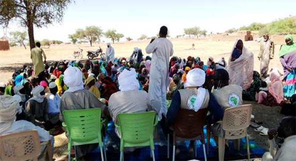 Improving the resilience of vulnerable refugee and indigenous households in Ouadi Ouba, Chad