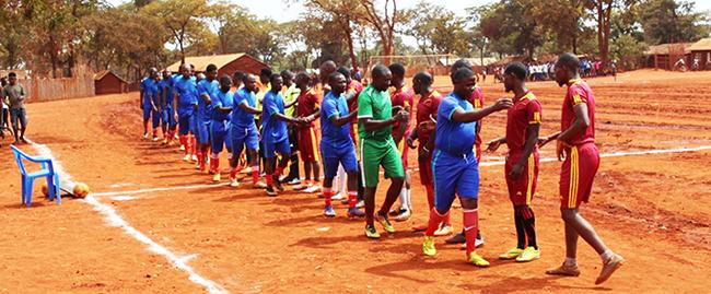 World Refugee Day 2021 celebrations at Nyarugusu camp, Tanzania