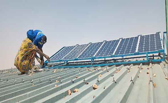 Renewable energy sources are gaining traction among refugee populations in Burkina Faso