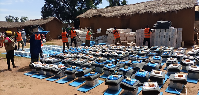 Massive internal displacement in the Central African Republic and the gap in basic needs