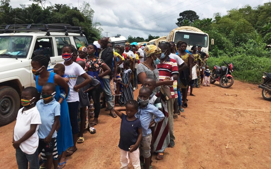 Ivorian refugees are hopeful for a peaceful future as they return home from Liberia